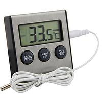 Fridge/Freezer Hi-Low Digital Alarm Thermometer