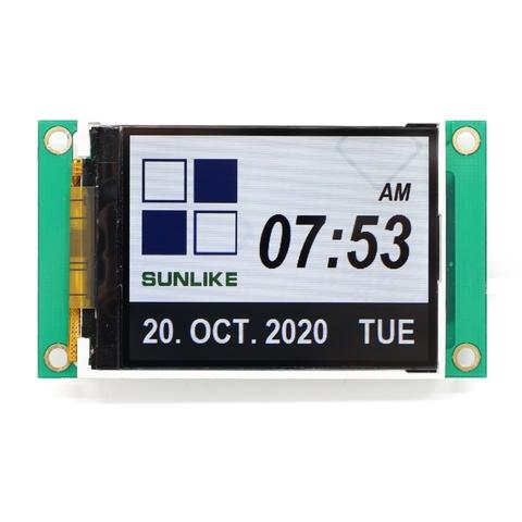 UART Interface TFT LCD Module