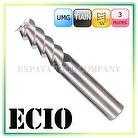 Solid Carbide End Mills for Aluminum Alloy