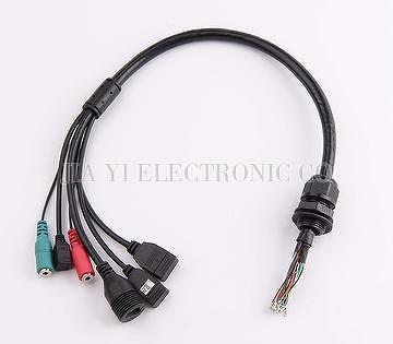 Taiwan Custom IP Camera Cable Assembly | JIA YI ELECTRONIC