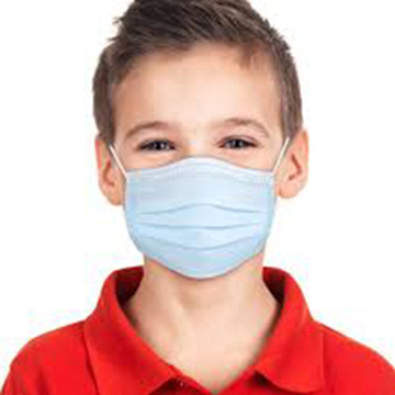 Boy wearing Children Disposable Face Mask