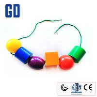 Big size beads (6 color 48 pcs 3.6cm)