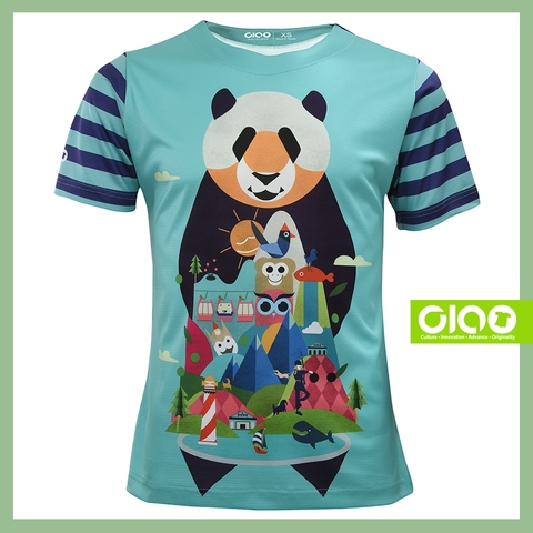 Anti bacterial Coolmax Active size S children maxico run tshirt