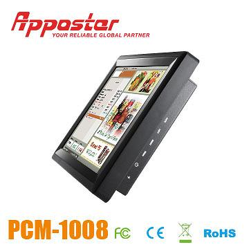Appostar POS Monitor PCM1008 Side View