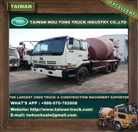 UD-035 Used NISSAN Concrete Mixer truck /  mixer truck