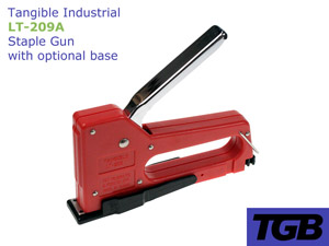 LT-209A Staple Gun with optional base