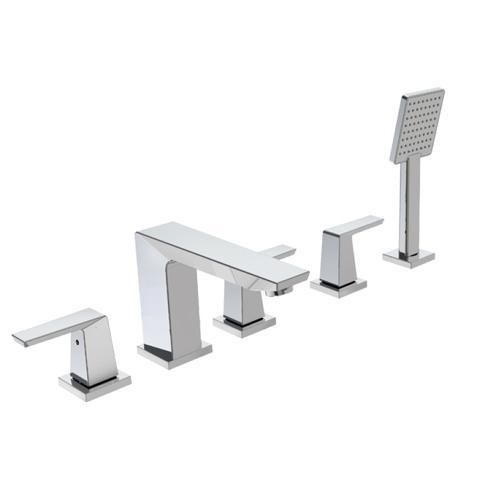 Crisscross - 5 pc Roman Tub Filler faucet