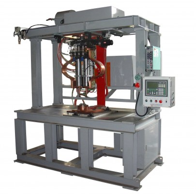 NC servo spot welding machine- for fuel tank baffle& body welding