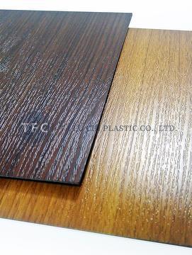 Taiwan Abs Wood Grain Sheet Ta Fu Chi Plastic Co Ltd