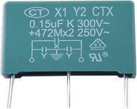 X1+Y2 interference suppression capacitor