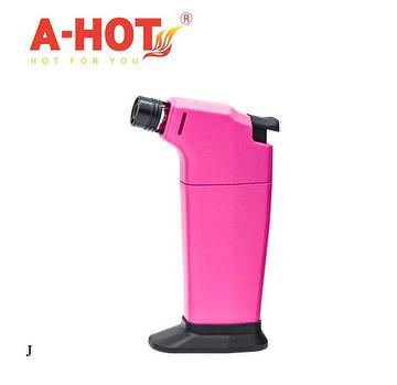 professional home use portable flame adjustable butane refill lighter