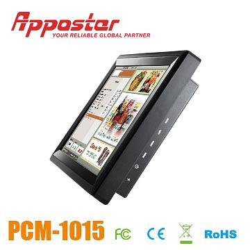 Appostar POS Monitor PCM1015 Side View
