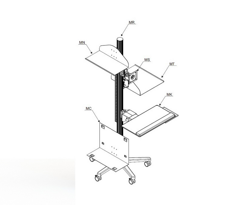 Taiwan Multiple Working Station For Lcd Monitor Mount