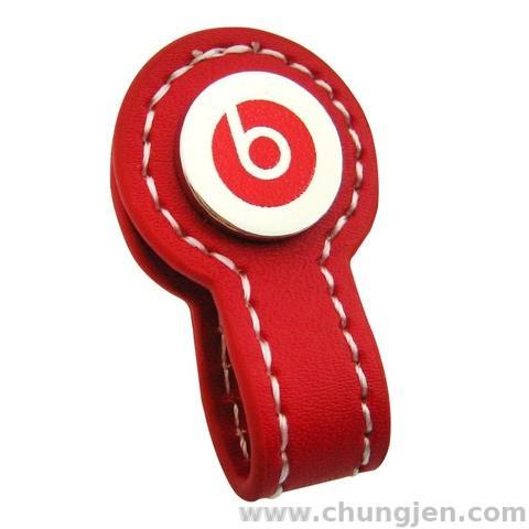 Earphone Leather Cable Winder
