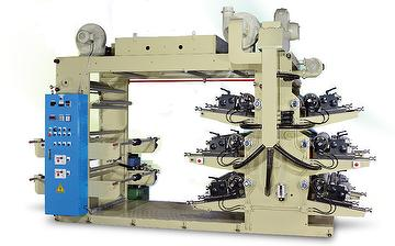 Luminary 6 Colors High Speed Stack Type Flexographic Printing Machine