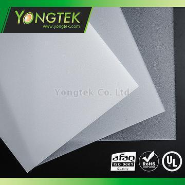 Taiwan PMMA material LED light diffuer sheets   YONGTEK CO , LTD