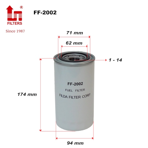 FF-2002 Fuel filters