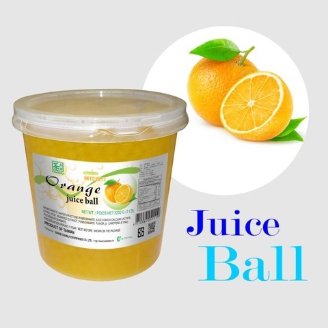 Orange Flavoured Juice Ball