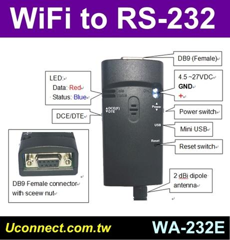 WiFi RS232 Profile
