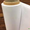 White Plastic Sheeting:  PVC Sheet Roll