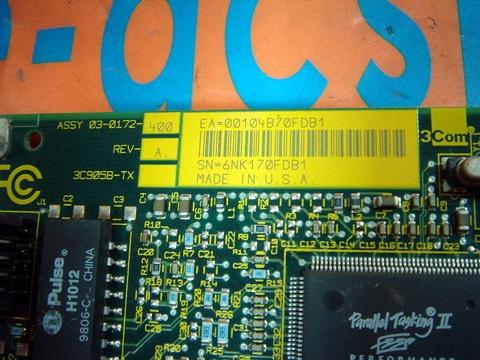 3COM ETHERLINK XL 10100 PCI TX NIC DOWNLOAD DRIVER