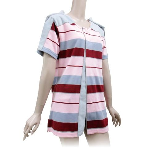 Button  Free  Patient  gowns