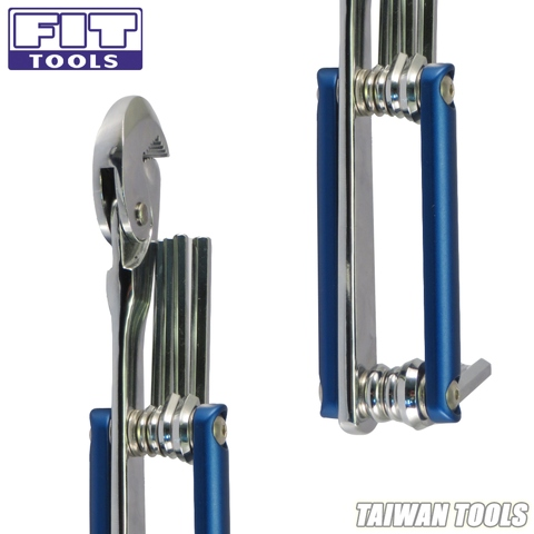 FIT TOOL Alloy Steel Quality Multi-functional Wrench  8~19mm(5/16~3/4)