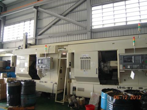 ML002-1、ML002-2 CNC Turning Center Okuma LB 15 II MY