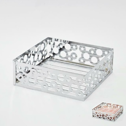 High Class Decorative Metal Napkin Holder