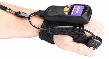 Wearable pocket barcode scanner