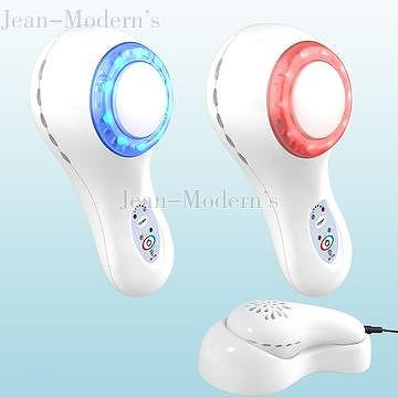 Cool/Hot Beauty Device With Blue/Red LED Light_jean-modern's