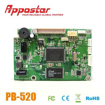 Appostar Printer Control Board PB520 Front View