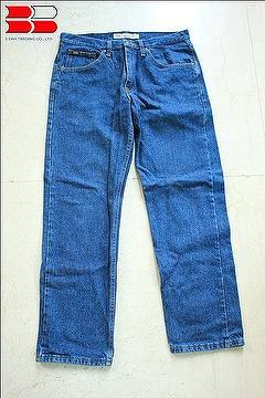 Skinny blue denim jeans for men