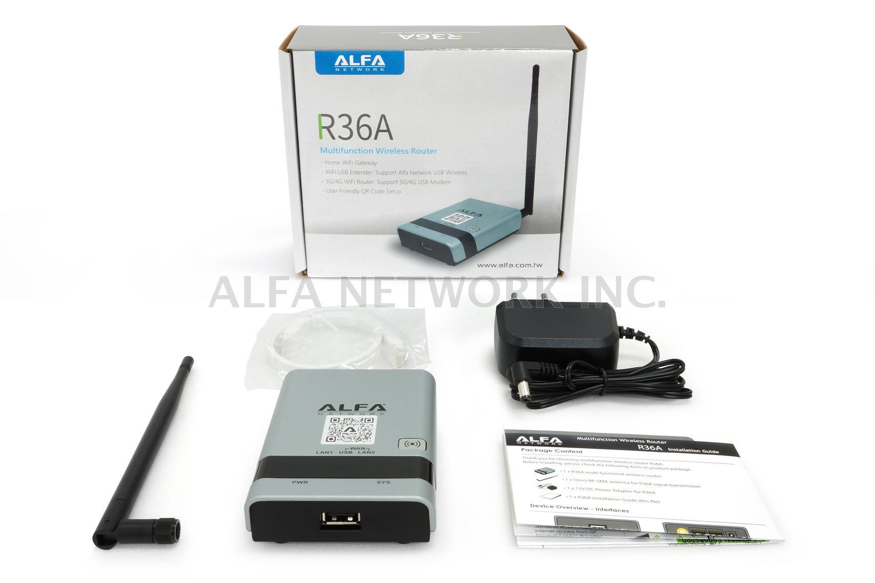 Taiwan ALFA R36A WiFi USB & 4G Modem Extender Router | ALFA NETWORK INC