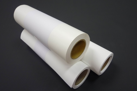 graphic about Printable Fabric Roll titled Taiwan Inkjet Printable Cotton Material Roll (Electronic Textile