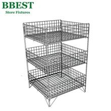 3 Layers Wire Dump Racks