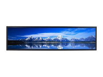 "37.7""Resizing LCD,1000 nits LED backlight, 1920x460 ultra wide aspect ratio 16:3.8"