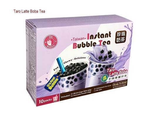Taiwan No 1 Instant Bubble / Instant Tapioca Boba Pearl (Taro Latte Flavor)