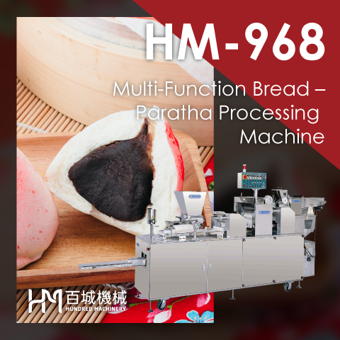 HM-968 Multi-Function Bread – Paratha Processing Machine
