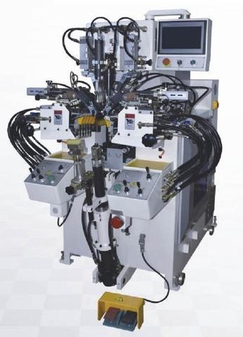 4-PINCER HYDRAULIC MED-POST LASTING MACHINE