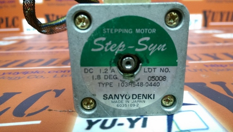 SANYO DENKI SANMOTION STEPPER MOTOR TYPE 103H548-0440