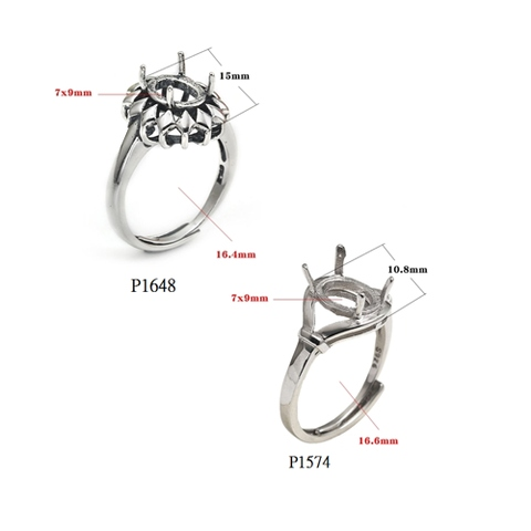 925 Sterling Silver Ring Stand
