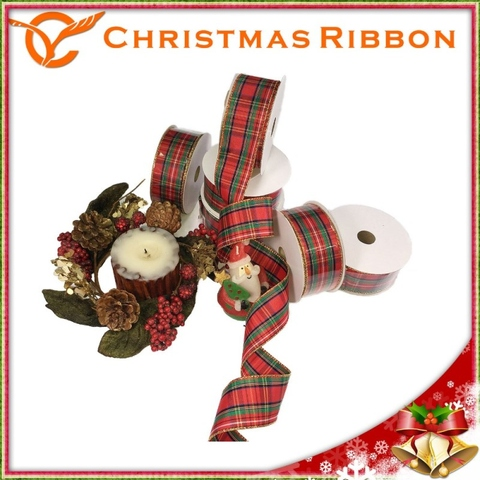 taiwan w 15 x 10 y plaid christmas ribbon taiwantradecom