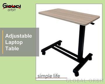 Laptop Side Table, Laptop Table, Bedside Table, Laptop Desk, Mobile Laptop  Table, Rolling Desk, Table, Desk