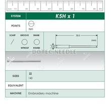 K5HX1 - Embroidery Machine Needle