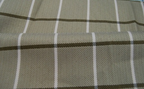 Apex Checkered Jacquard Fabric