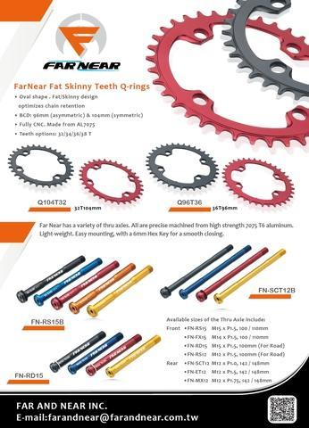 FarNear FOX 15mm Thru Axle