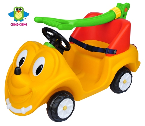 CA-18 bebe push car with foldable handle and seat belt- toy