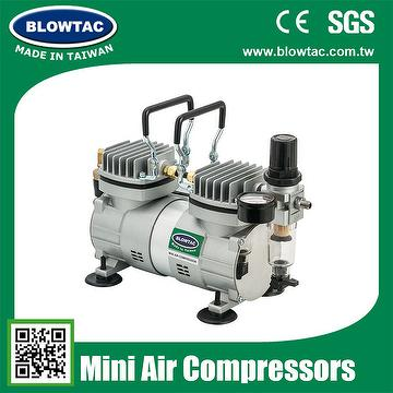 TC-30 air brush machine Double cylinders Mini Air Compressor with Tank