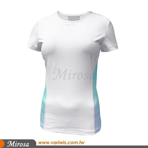 Women Running T-Shirt. Lightweight Quick Dry Workout Top.